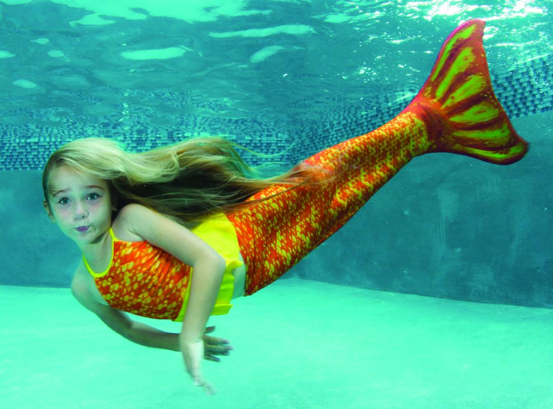 zwemmen als een zeemeermin